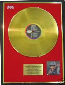 FRANK SINATRA -24 Carat Gold LP Disc-COME DANCE WITH ME